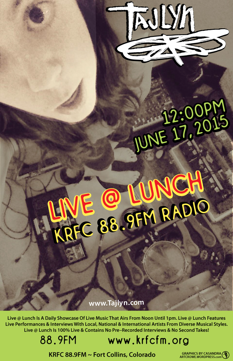Live@Lunch June 17, 2015 KRFC 88.9 FM Fort Colins, CO